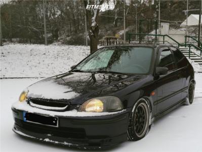 1996 Honda Civic - 16x6.5 0mm - Rota Gt3 - Coilovers - 205/50R16