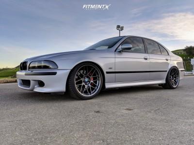 2000 BMW M5 - 19x9 28mm - Apex Arc-8 - Coilovers - 245/35R19