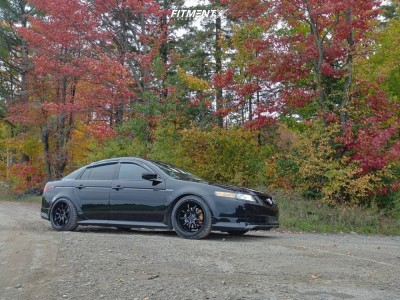 2004 Acura TL - 18x9.5 10mm - Work Emotion - Coilovers - 235/40R18