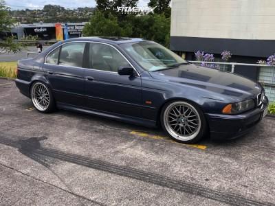 2002 BMW 530i - 19x9.5 25mm - BBS Lm - Lowering Springs - 245/35R19