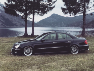 2004 Mercedes-Benz E320 - 18x10 30mm - Budnik Gasser - Coilovers - 215/35R18