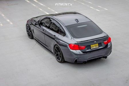2016 BMW 428i xDrive Gran Coupe - 19x8.5 35mm - BBS Ci-r - Coilovers - 225/40R19