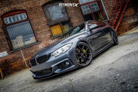 2016 BMW 435i xDrive Gran Coupe - 19x8.5 35mm - BBS Ci-r - Coilovers - 225/40R19