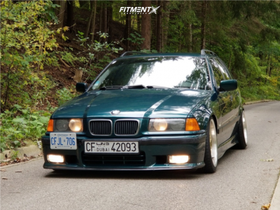 1998 BMW 328i - 17x8 20mm - BBS Rc090 - Coilovers - 205/40R17