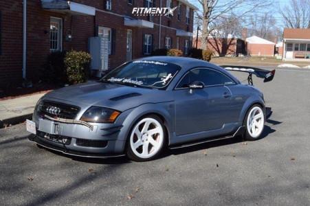 2002 Audi TT Quattro - 18x8.5 25mm - Avid1 AV50 - Lowering Springs - 225/40R18
