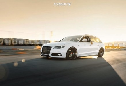 2009 Audi A4 Quattro - 20x10 35mm - Rotiform Kps - Air Suspension - 235/30R20
