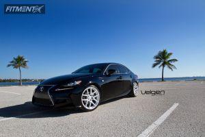 2014 Lexus IS250 - 19x9 35mm - Velgen VMB5 - Lowered on Springs - 235/35R19