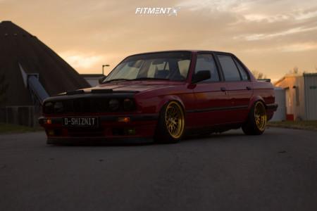 1989 BMW 325i - 16x8 20mm - ESM 007 - Air Suspension - 195/45R16