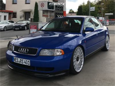 1998 Audi A4 - 19x8.5 45mm - Rotiform Las-r - Coilovers - 225/35R19