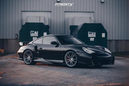2001 Porsche 911 - 19x8.5 43mm - Rohana Rf2 - Coilovers - 235/35R19
