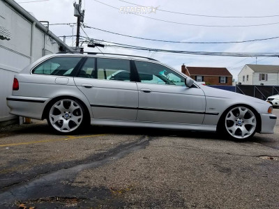 2000 BMW 528i - 19x9 48mm - BMW Style 63 - Coilovers - 235/35R19
