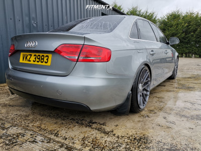 2008 Audi A4 - 19x8.5 45mm - Rotiform Rse - Coilovers - 235/35R19
