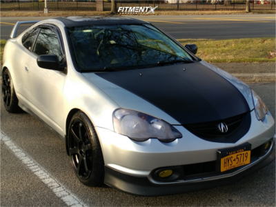 2004 Acura RSX - 18x8.5 35mm - Enkei T6s - Coilovers - 225/40R18