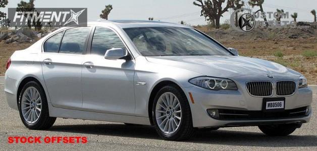 2010 BMW  - 19x8.5 25mm - Stock Stock - Stock Suspension - 245/45R19