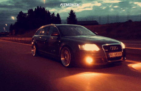 2007 Audi A6 - 20x10 25mm - BBS Lm - Coilovers - 235/30R20