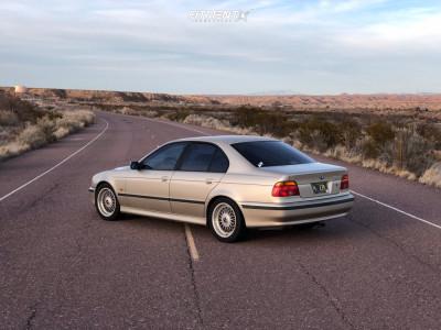 1998 BMW 528i - 17x8 20mm - BBS Rc090 - Stock Suspension - 205/50R17