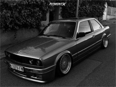 1984 BMW 325is - 16x9 20mm - Dare Rs - Air Suspension - 195/30R16