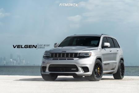 2018 Jeep Grand Cherokee - 20x10.5 35mm - Velgen VF5 - Lowering Springs - 295/45R20