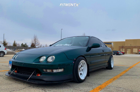 1999 Acura Integra - 15x8 0mm - MST Time Attack - Coilovers - 195/50R15