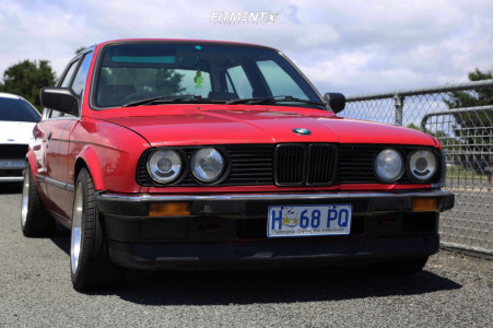 1986 BMW 3 Series - 15x8 0mm - BBS Rs003 - Coilovers - 195/55R15