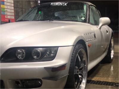 1997 BMW Z3 - 19x8.5 20mm - MRR Gt5 - Lowering Springs - 235/35R19