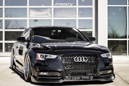 2015 Audi S5 - 19x10 26mm - Work Meister L1 3p - Air Suspension - 255/35R19