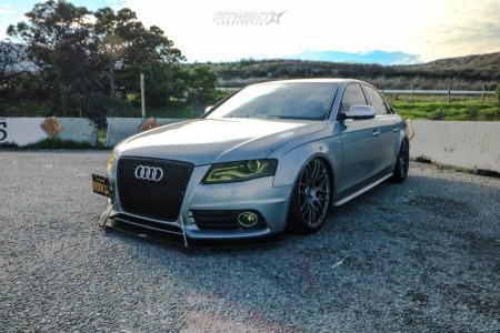 2011 Audi S4 - 19x9.5 45mm - VMR V718 - Air Suspension - 265/30R19