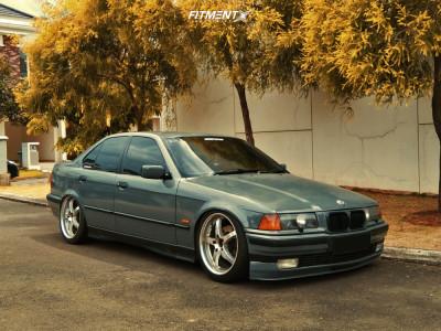 1996 BMW 3 Series - 18x8 35mm - Breyton Imagine - Lowering Springs - 215/40R18