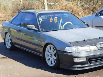 1993 Acura Integra - 17x7 45mm - 5zigen Imperio S08 - Coilovers - 205/40R17