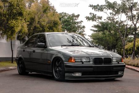 1998 BMW 318i - 18x8 35mm - Breyton Imagine - Lowering Springs - 215/40R18