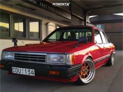 1987 Daihatsu Charmant - 15x8 0mm - XXR 2 - Coilovers - 165/45R15