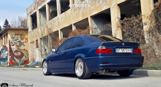 2000 BMW 318i - 18x8.5 35mm - BBS Rs - Lowering Springs - 225/40R18