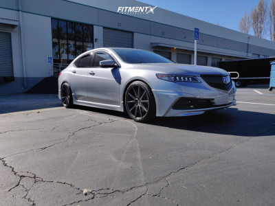 2016 Acura TLX - 20x9 38mm - Vossen Vfs1 - Coilovers - 245/35R20