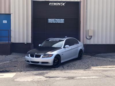 2008 BMW 328xi - 18x8 35mm - Platinum Revelation - Stock Suspension - 225/40R18