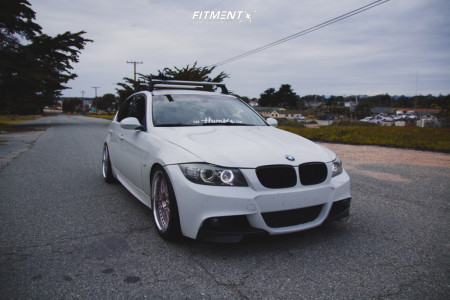 2008 BMW 335i - 19x8.5 29mm - Work Vs Xx - Coilovers - 245/35R19