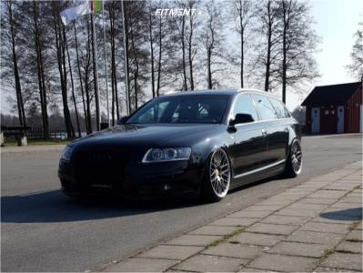 2008 Audi A6 - 20x10 24mm - BBS Speedline - Air Suspension - 245/30R20