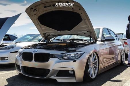 2013 BMW 320i - 19x8.5 30mm - Vossen Cvt - Air Suspension - 225/25R19
