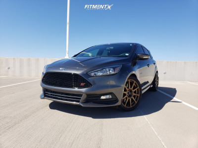 2017 Ford ST - 18x8 40mm - Method Mr501 - Stock Suspension - 245/40R18
