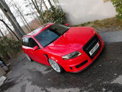 2006 Audi A4 Quattro - 19x9.5 35mm - Brada Cr-1 - Air Suspension - 245/35R19