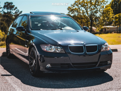 2007 BMW 328xi - 18x8.5 35mm - ESR SR12 - Stock Suspension - 225/40R18