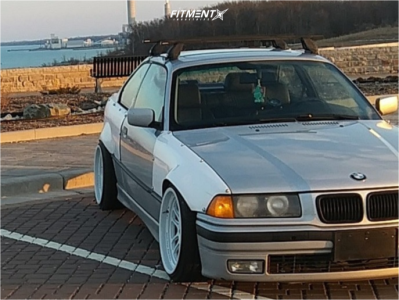 1999 BMW 323is - 18x9.5 10mm - Cosmis Racing XT-206R - Coilovers - 225/35R18