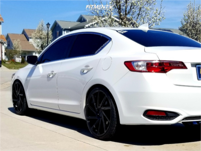 2016 Acura ILX - 20x8.5 35mm - F1R F29 - Coilovers - 235/30R20