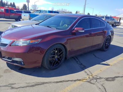 2013 Acura TL - 19x9.5 35mm - Enkei Ty5 - Coilovers - 245/40R19