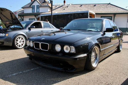 1994 BMW 530i - 16x8.5 12mm - Ronal  - Coilovers - 205/50R16