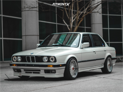1991 BMW 318i - 17x8.5 20mm - BBS Rc090 - Coilovers - 215/40R17