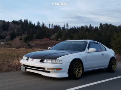 1995 Honda Prelude - 16x8.25 0mm - XXR 527 - Coilovers - 205/45R16