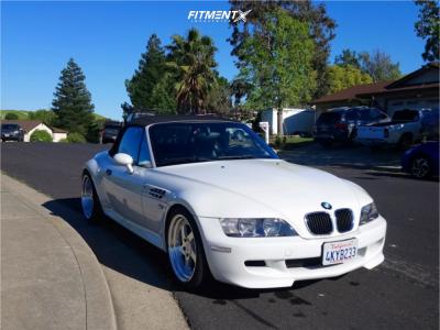 2000 BMW Z3 - 18x8.5 30mm - ESR Sr02 - Coilovers - 245/35R18
