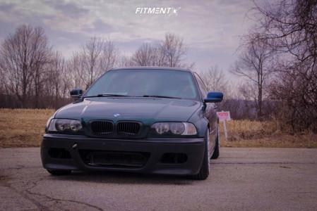 2000 BMW 323Ci - 17x9 30mm - Rotiform Rse - Coilovers - 215/45R17