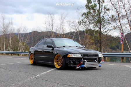 2001 Audi A4 Quattro - 18x9.5 22mm - ESR Sr01 - Coilovers - 205/40R18