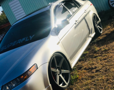 2004 Acura TL - 20x10 40mm - Sothis Sc002 - Coilovers - 245/35R20